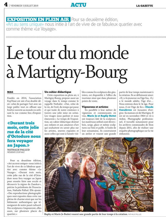 La Gazette // 5 juillet 2019