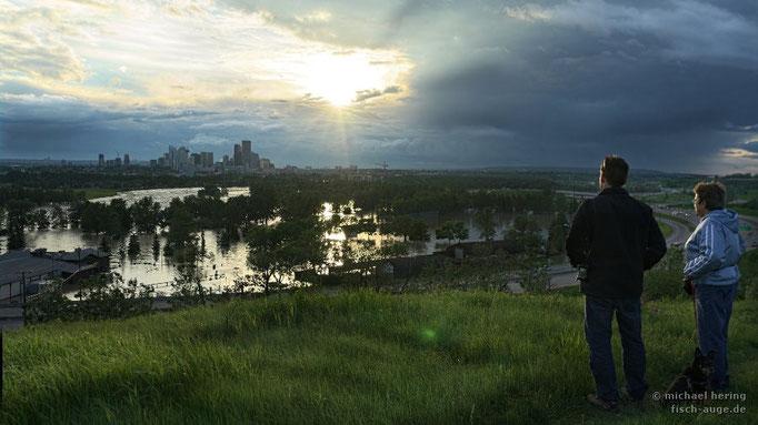 Flut in Calgary, Alberta