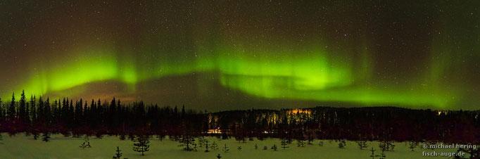 Polarlichter, Nordfinnland