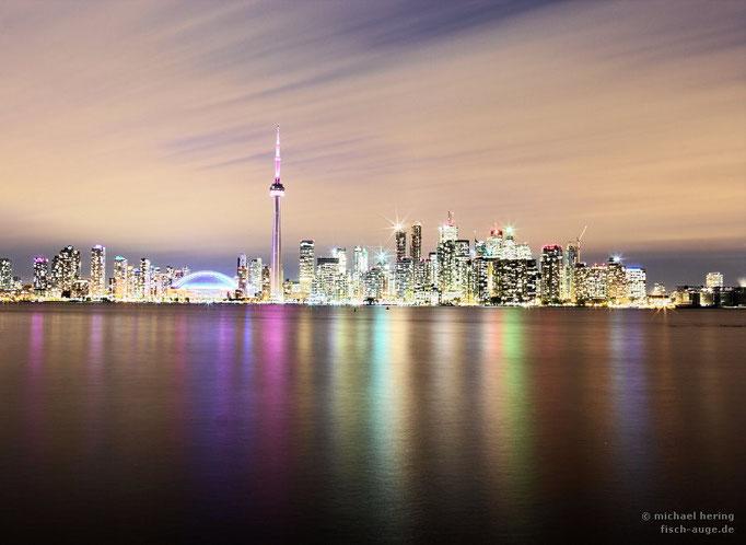 Toronto Skyline von Toronto Island