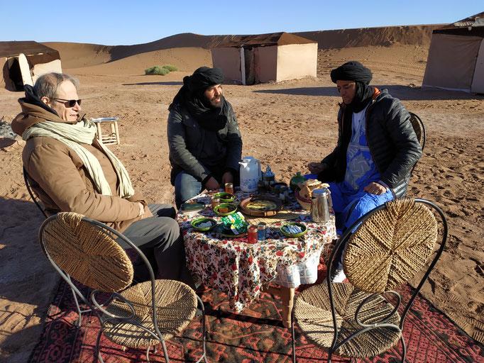campement aux dunes de Chegaga