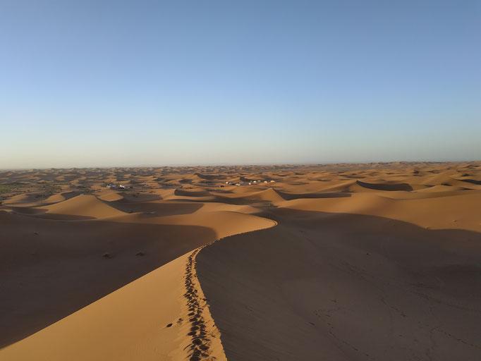 Dunes de Chegaga au Maroc