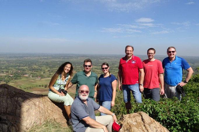 Unsere Gruppe auf dem Gipfel