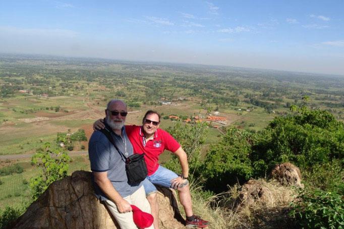 Jakobus und Matthias auf dem Gipfel