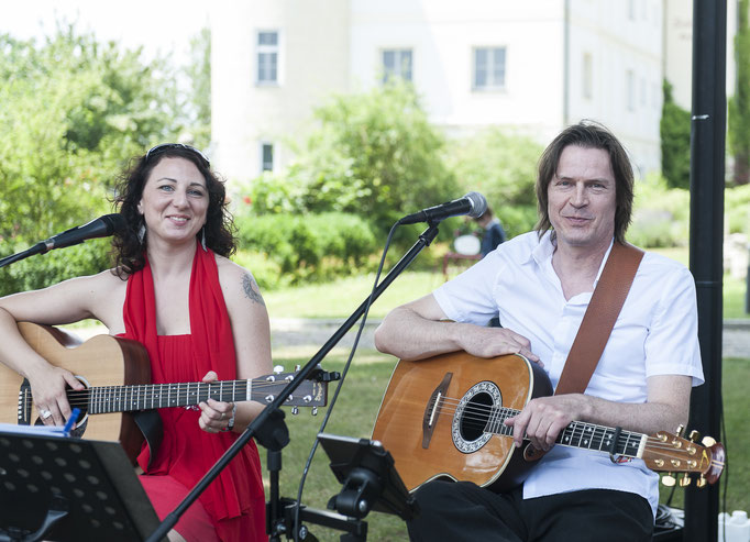 Angie & Erwin Gitarrenduo - Trauung Schloss Odelzhausen