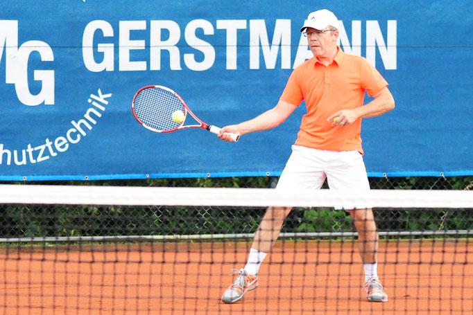 Für das Eichsfelder Tageblatt: Tennis-Leistungsklassen-Turnier des TC Nesselröden am 30.07.2016