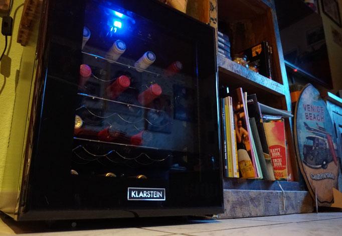 Barolo Weinkühlschrank - ein optisches Highlight im Wohnzimmer
