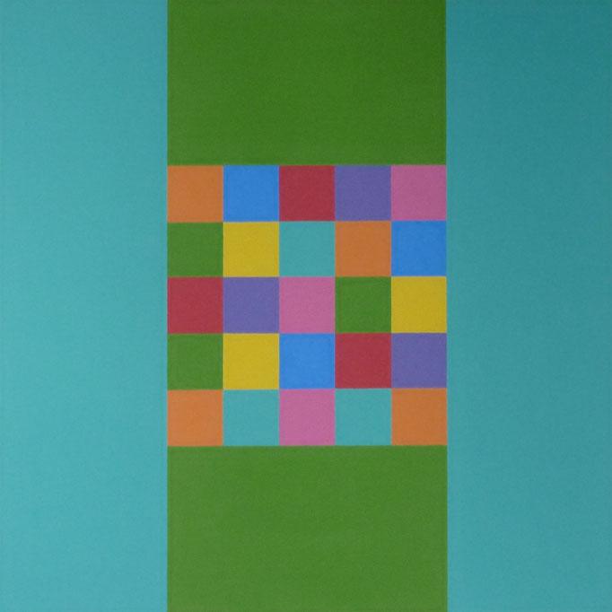 """""""Gesprächsstoff"""" 40 x 40 cm"""