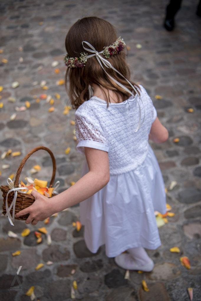 Hochzeit Blumenmädchen