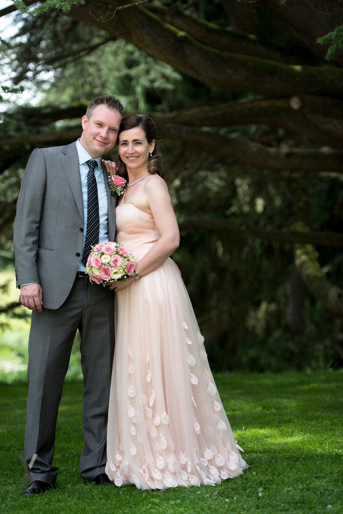 Hochzeit Brautpaar Portrait