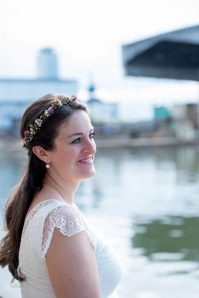 Hochzeit Portrait der Braut