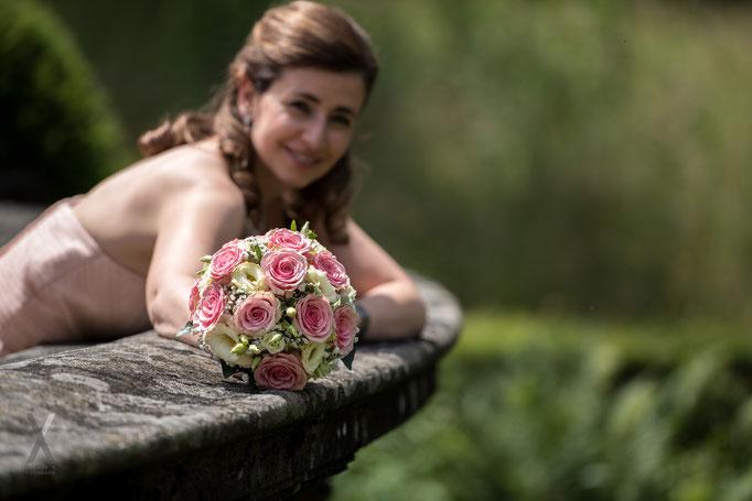 Hochzeit Braut Portrait