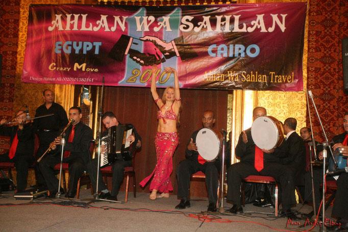 Bauchtanz Auftritt in Kairo, Bauchtänzerin Seiya aus Köln, NRW, Rheinland, Deutschland