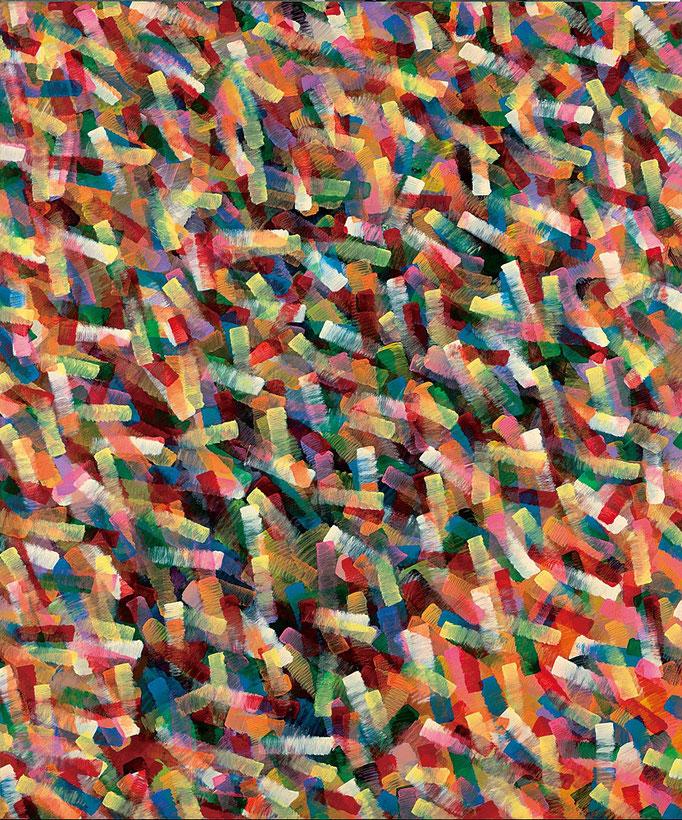 """""""思い出"""" 194.0×162.0㎝(2015) acrylic on wood"""