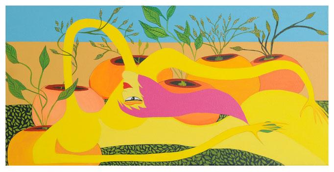 Nature Féminine. 75x40 cm Vendu - Sold