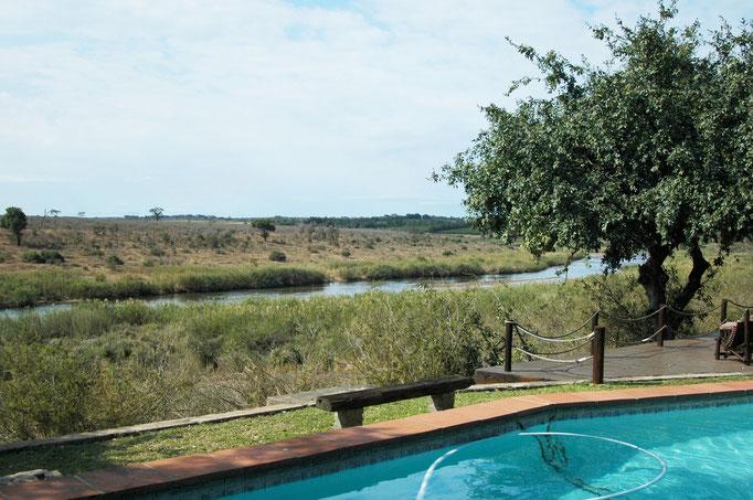 Uitzicht op Krugerpark vanaf Bucklers