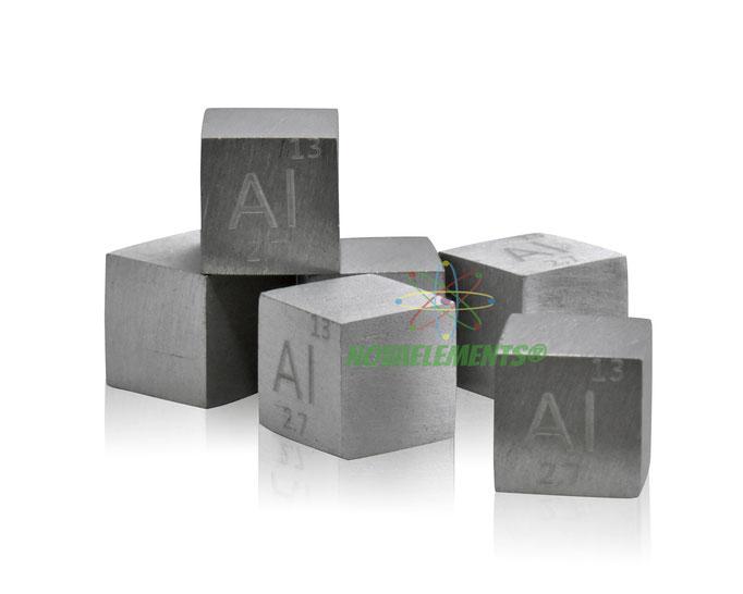 alluminio cubi, alluminio metallo, alluminio metallico, alluminio cubo, alluminio cubo densità, nova elements alluminio