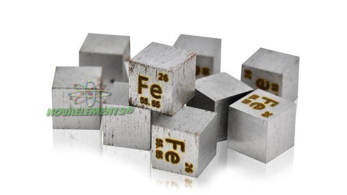 ferro cubo, ferro cubi, ferro metallo, ferro metallico, ferro cubo densità, nova elements ferro