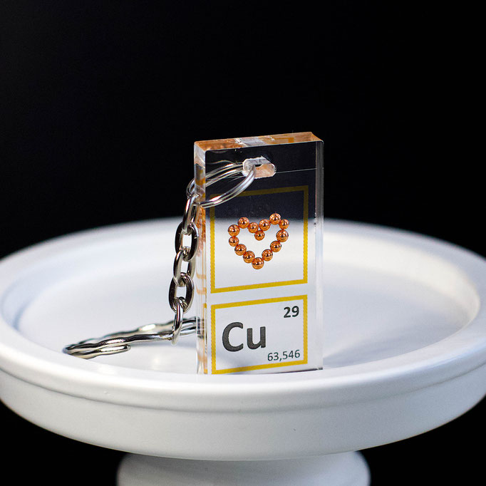 rame sfere portachiavi, portachiavi di elementi, portachiavi con elementi, elementi della tavola periodica, elementi chimici, regali scientifici, gadget scientifici, portachiavi scientifici, portachiavi di metallo