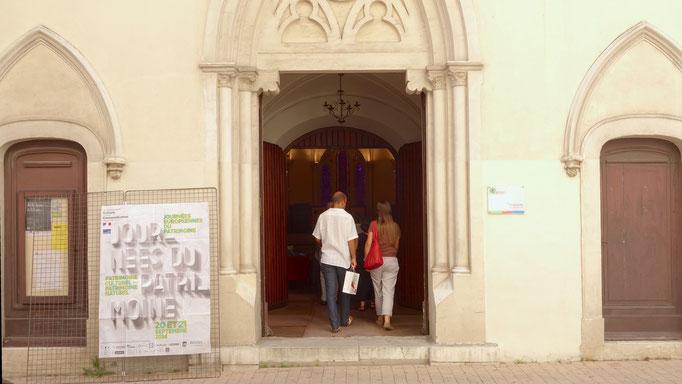 Un temple historique autrefois anglican et réformé