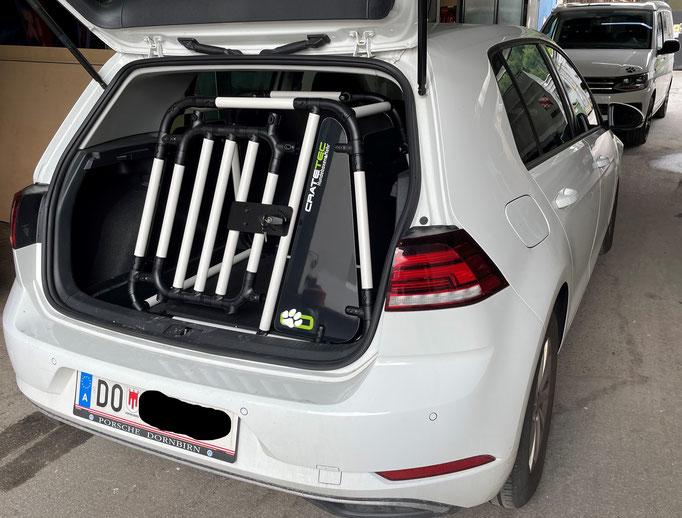 Hundebox M 2.1 für VW Golf7