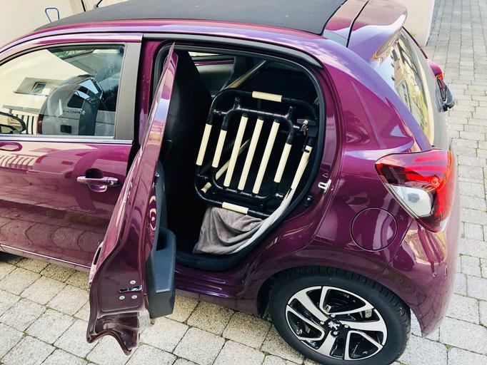 Rücksitzbox S+ 9.1 Peugeot 108