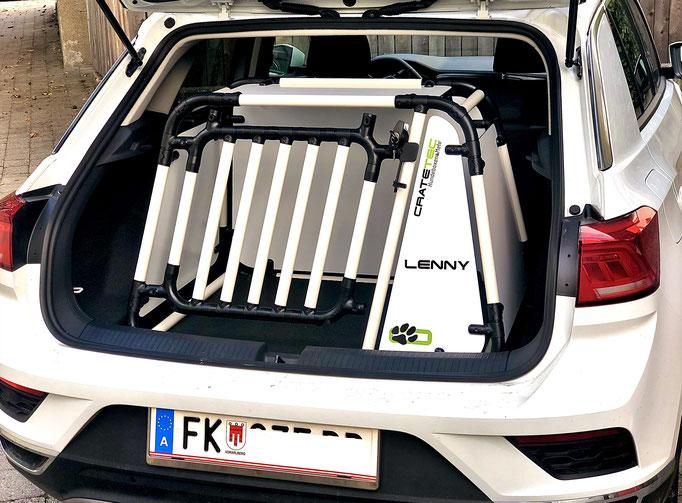 Hundebox +L2 2.2 für VW T-Roc
