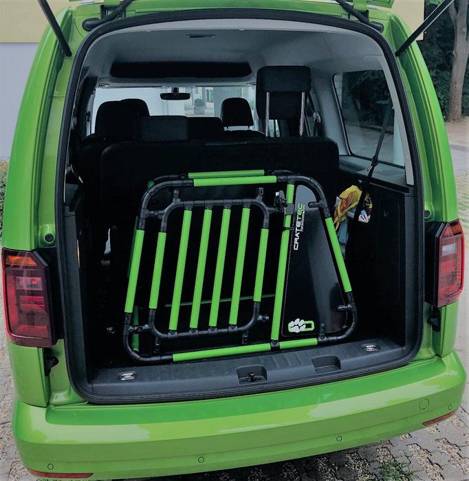Hundebox +M 7.1 für VW Caddy Maxi