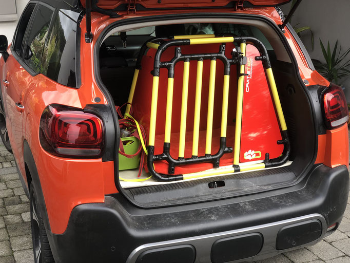 Hundebox +M 5.3 für Citroen C3 Aircross