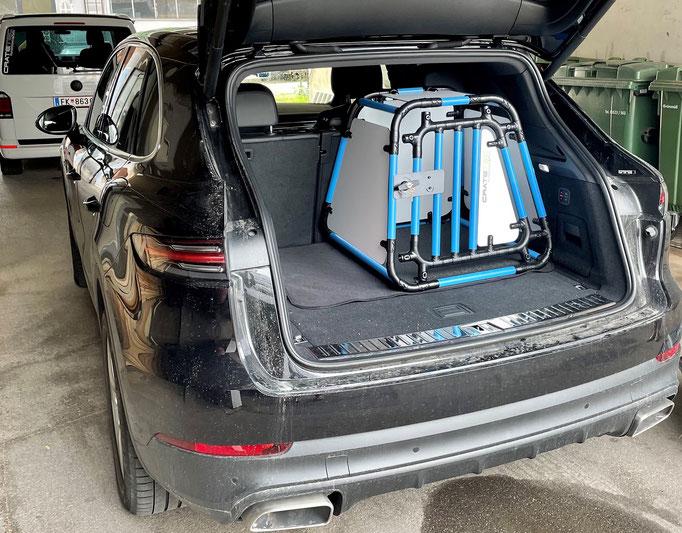 Hundebox +S 6.2 für Porsche Cayenne