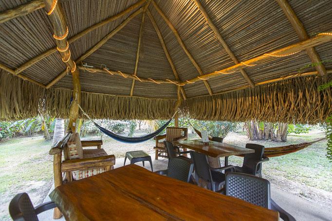 Espace détente Barbecue Cabanas los Colibris