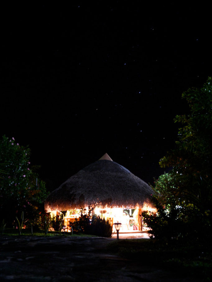 Cabanas Los Colibris, la nuit