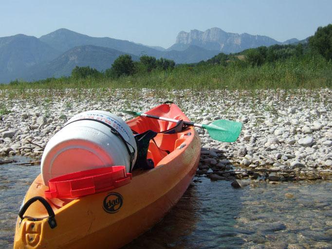 canoeing Drôme Trois Becs