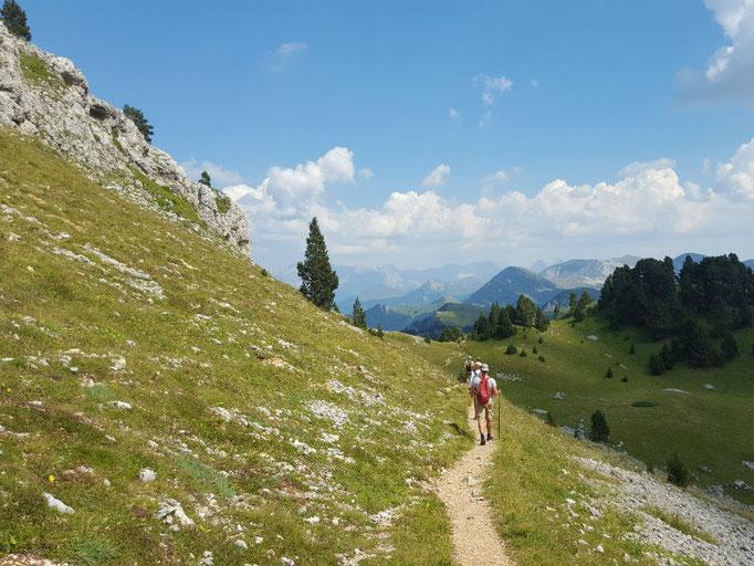 hiking Vercors