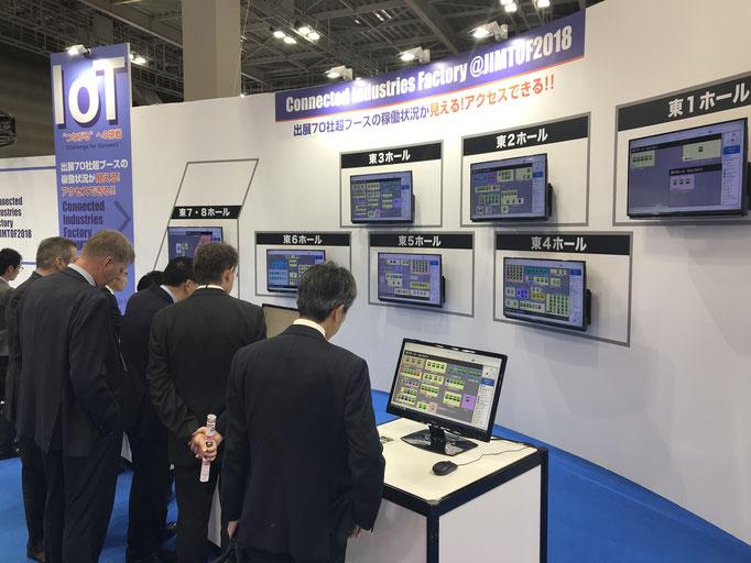 "JIMTOF2018 主催者企画展示 IoT ""Connected Industries Factory"""