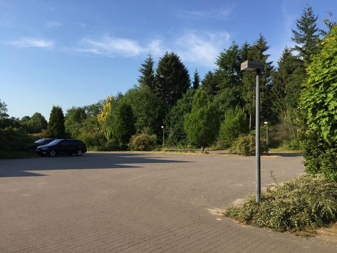Der große Parklatz