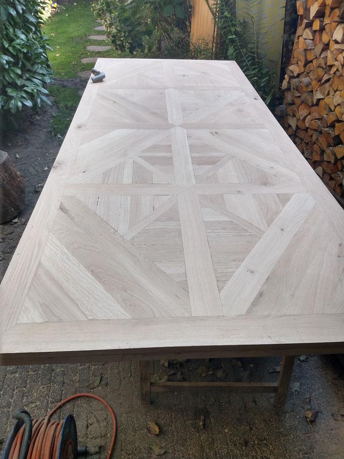 naturel eikenhout tafel