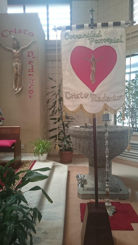 Estandarte Cristo Redentor
