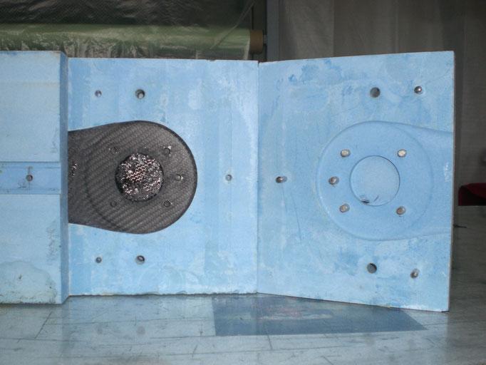 Rohling Maschinenflansch, anschließend CNC Bearbeitung für Präzisionspassung
