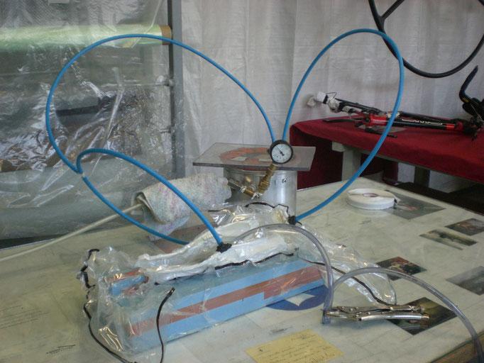 Vakuuminfusion Carbonlaminat