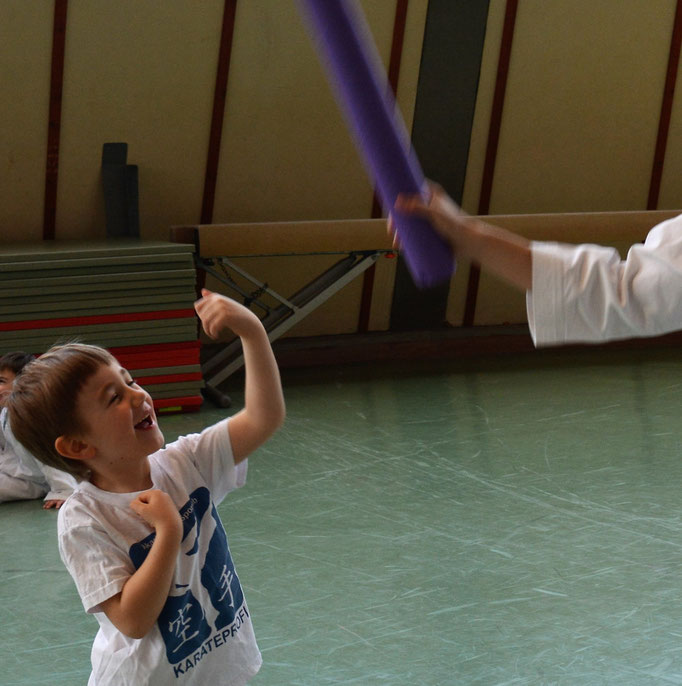 kinderfreundlich Kampfsport lernen 3-6 Jahre