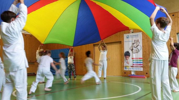 Martial Arts für Kinder, hier: Karateprofis 6-8 Jahre