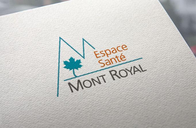Création d'un logo pour un Espace de Santé à Montréal-la-Cluse