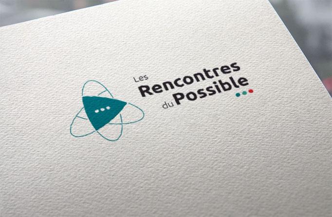 Agence de communication écoresponsable Un Degré Cinq à Bourg-en-Bresse : création du logo des Rencontres du Possible