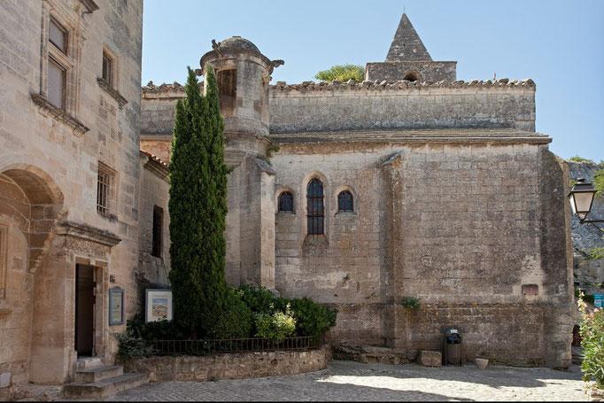 Saint-vincent Kirche in les Baux-de-Provence