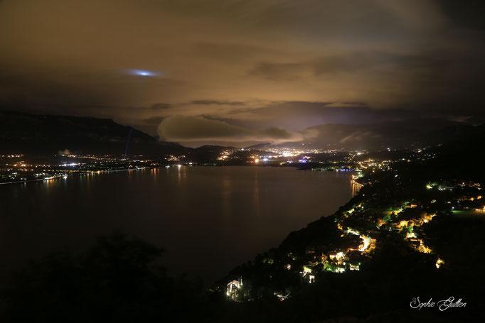 Lac du Bourget Nuit