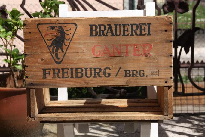 Brauere Ganter Bierkiste Holz