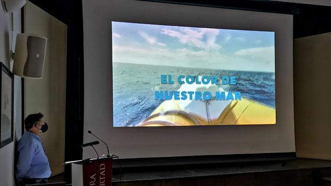 Inicio del vídeo tomado en Maro-Cerro Gordo