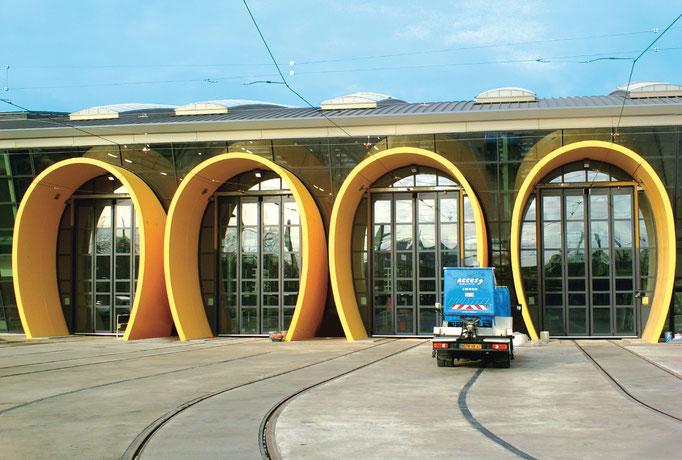 Dépôt Tram d'Orléans (45) - 2ème ligne