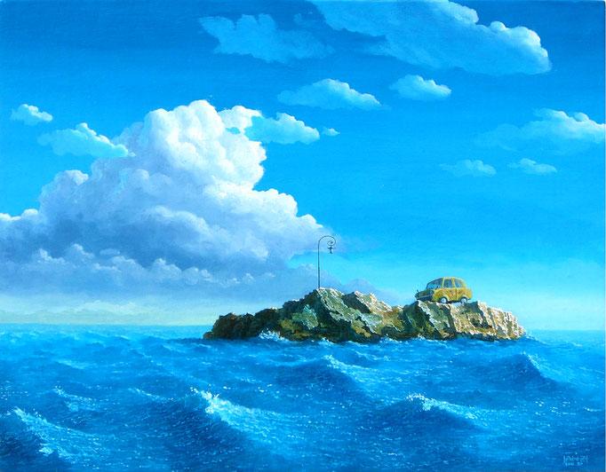 Solitary island of the island  孤島の跡    2009